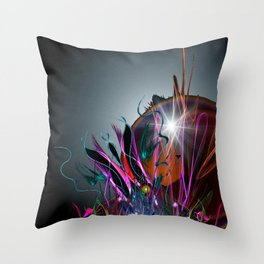 And So We Rise Throw Pillow