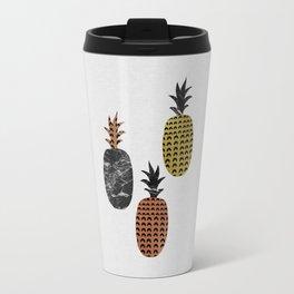 Scandi Pineapples Travel Mug