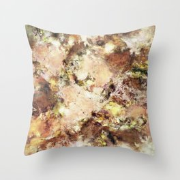 Abraded surface Throw Pillow