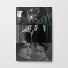Outlaw Queen Metal Print