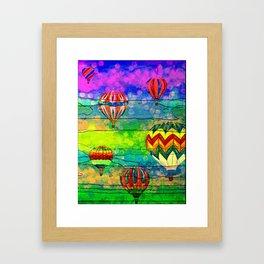 Hot Air Balloons #6 Framed Art Print