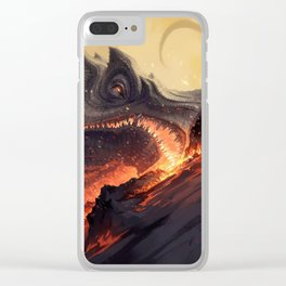 Dragon Clear iPhone Case