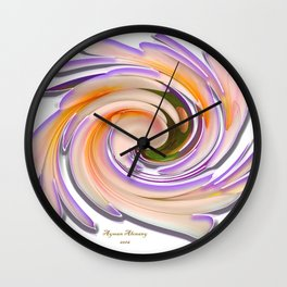 The whirl of life,W1.8A Wall Clock