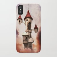 castle in the sky iPhone & iPod Cases featuring Castle in the Sky by Heidy Curbelo