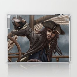Captain Jack Sparrow Laptop & iPad Skin