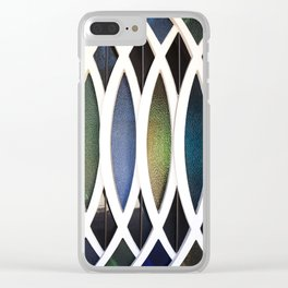 Stained Glass Clear iPhone Case