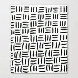 Three Stripes Pattern Canvas Print