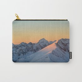 Lit mountainside Carry-All Pouch