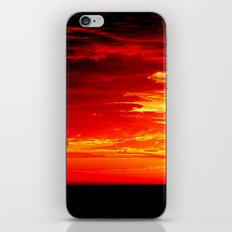 Fiery Sky iPhone & iPod Skin