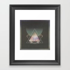 STELLAR ICON ▲ Framed Art Print