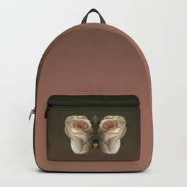 Vanilla Butterfly Roses Backpack
