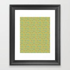Yellow Butterflies Framed Art Print