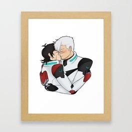 we saved eachother Framed Art Print