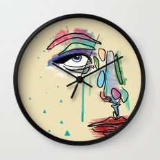 Blackout Night Wall Clock