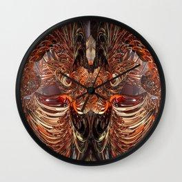 Tiger Eagle Fx  Wall Clock