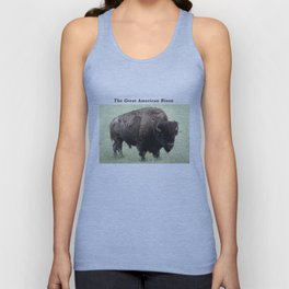 The Great American Bison Unisex Tank Top