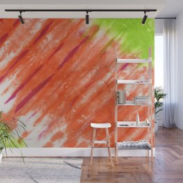 Pleated and Laced Wall Mural