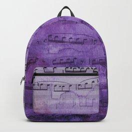 Soft Purple Music Backpack