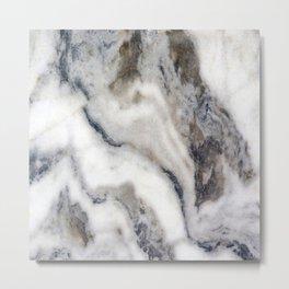 Marble Stone Texture Metal Print