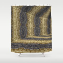Iconic Hollows 6 Shower Curtain