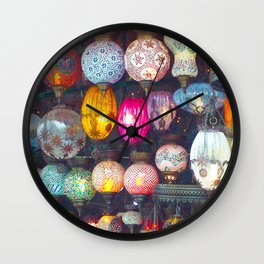 Turkish Lights Wall Clock