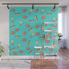 Sweet and desserts Wall Mural