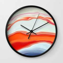 Clamshell Abstract Wall Clock