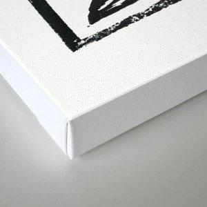 2016 year of the Monkey Block Print Canvas Print