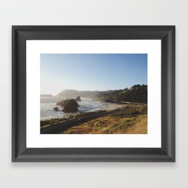 Gold Beach, Oregon Framed Art Print