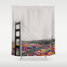 It's in the Water Shower Curtain