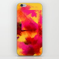 persona iPhone & iPod Skins featuring clown persona by R,oh
