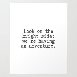 An Adventure Art Print