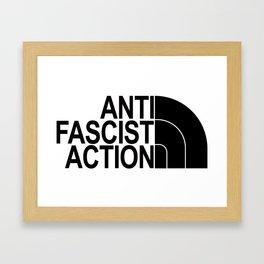 Afa n*rth face Framed Art Print
