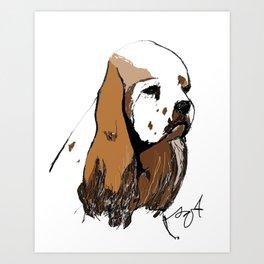 Cocker Spaniel Art Print