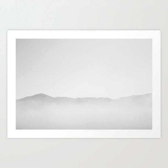Tranquillity sea Art Print