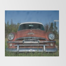 Retired Plymouth Throw Blanket