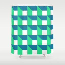 Modern Geometric 52 Shower Curtain