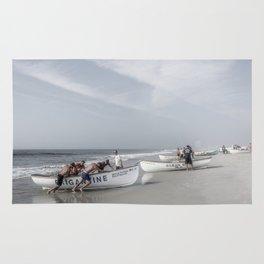 Beach Patrol, Jersey Shore Rug