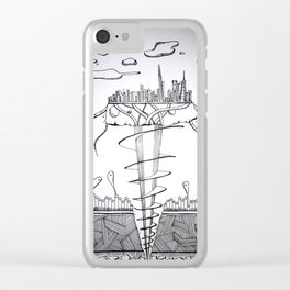 The intruders Clear iPhone Case