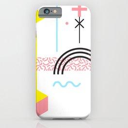 Memphis Style iPhone Case