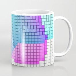 Rainbow Sqares Coffee Mug