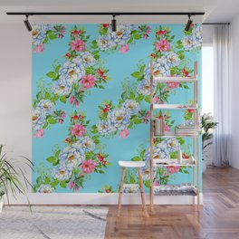 Vintage Floral Pattern No. 8 Wall Mural