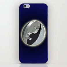 DOUBLE YIN AND YANG IN SPACE iPhone & iPod Skin