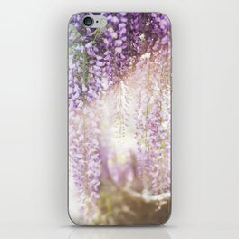 Caught the Light ... in Wisteria  //  The Botanical Series iPhone Skin