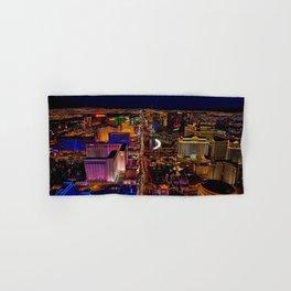 Las Vegas Nevada Skyline Hand & Bath Towel