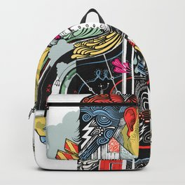 A Walking Man Backpack