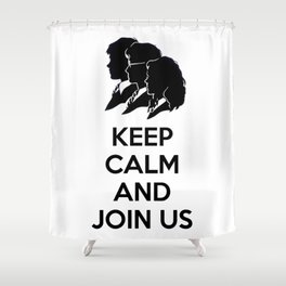 Kee Cam And Join Us Shower Curtain