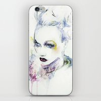 vogue iPhone & iPod Skins featuring Vogue by Chris Silver