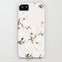 Blanc Botanikal iPhone Case