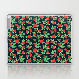 Lingonberry (on Navy) Laptop & iPad Skin